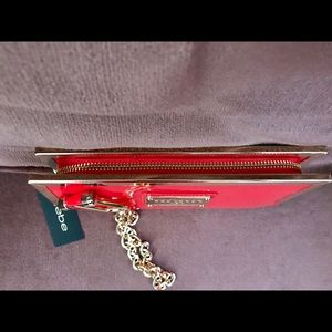 bebe Bags - Beautiful Bebe Wristlet. New with tags.